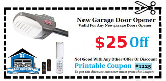 $25 Off New Garage Door Opener In St. Paul